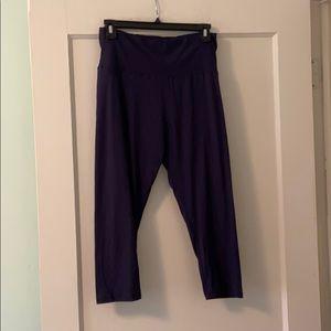 Navy blue soft leggings